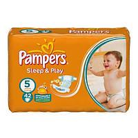 Pampers Sleep and Play подгузники 5(11-18кг),42 шт
