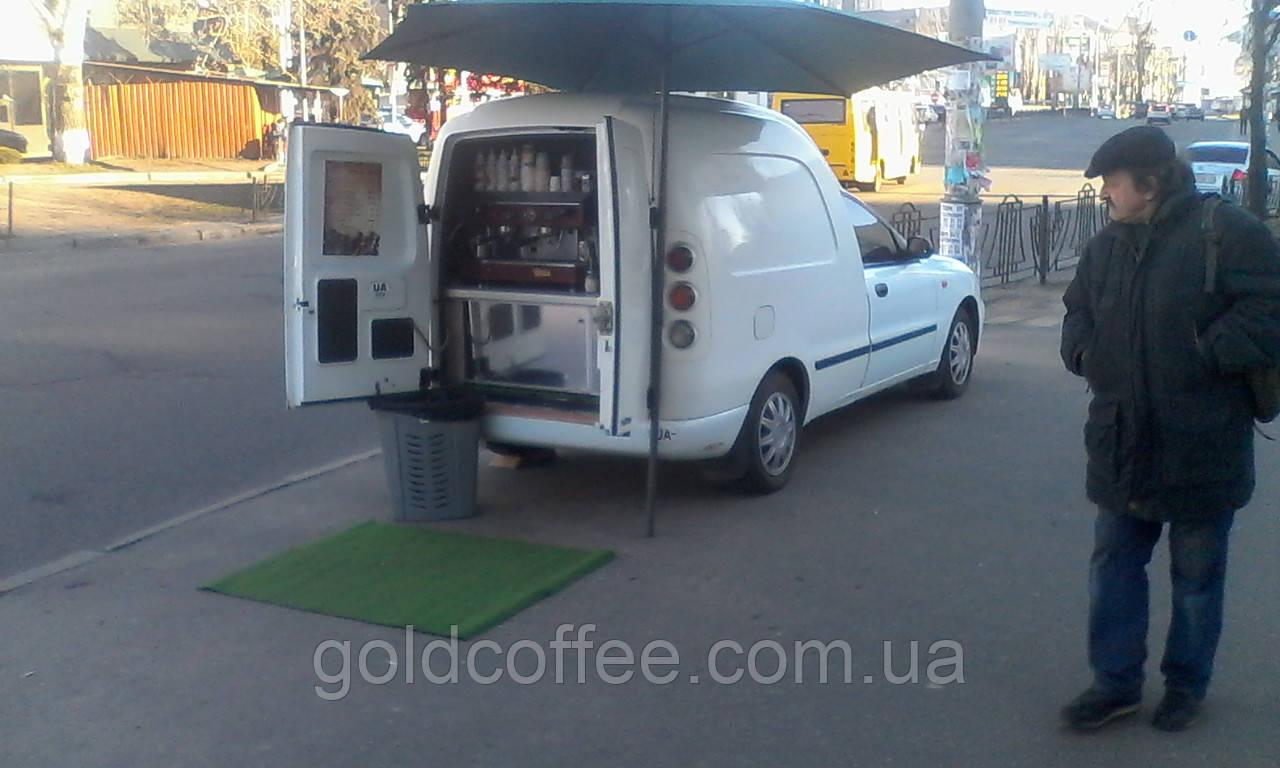 Lanos мобільна кав'ярня ланос пікап