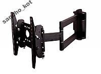 Крепление для ТВ поворот+наклон 15-37 КВАДО К43