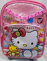 """Рюкзак на колесах """"Kitty"""" со съемной тележкой"""
