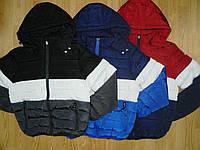 Куртки двухсторонние для мальчиков оптом, Nature , 10-16 рр.