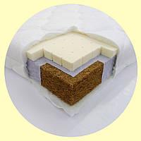 Латекс (8 см) 120*60 С кокосом и латексом. Детский матрас в кроватку для новорожденного ортопедический