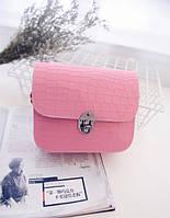 44b0365efc23 Элегантная сумочка клатч под кожу крокодила. Изысканная сумка на плече.  Универсальная сумка. Код