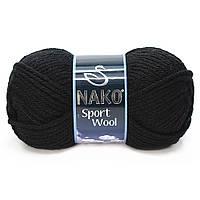 Nako Sport Wool - 217 черный