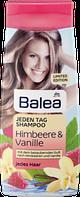Balea Jeden Tag Shampoo Himbeere Vanille - шампунь на каждый день с запахом клубники и малины 300 мл