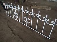Кованый забор арт.15