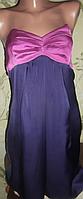 Яркое атласное платье Ladarh! Размер 12(М)46.