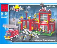 Конструктор BRICK 910 Пожарная тревога, 380 деталей
