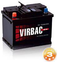 Аккумулятор автомобильный VIRBAC Classic 6ст-60 А/ч (0) 480En