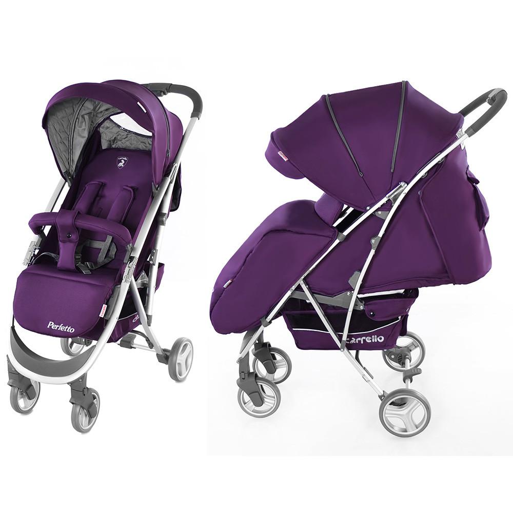 Коляска прогулочная Carrello Perfetto CRL-8503 фиолетовая