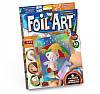Набор для творчества Апликация цветной фольгой Foil Art, Danko Toys, FAR-01-03
