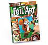 Набор для творчества Апликация цветной фольгой Foil Art, Danko Toys, FAR-01-06