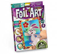 Набор для творчества Апликация цветной фольгой Foil Art, Danko Toys, FAR-01-07