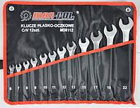 Кольцевые гаечные ключи 6-22mm 12шт