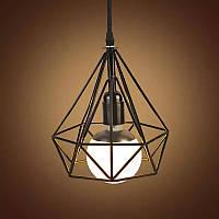 Подвесной светильник [ Cell loft design ] (клетка малая)