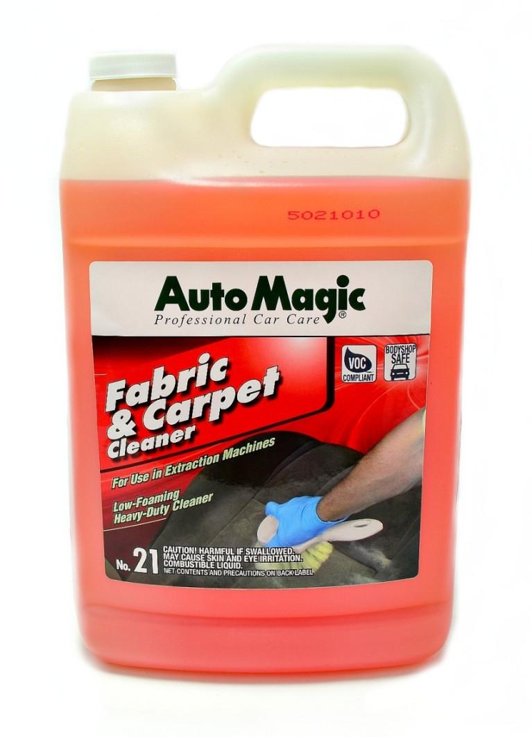 Auto Magic Fabric and Carpet Cleaner №21 низкопенное засіб для хімчистки салону