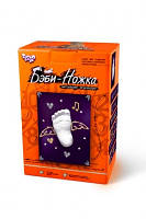 Набор для творчества Бэби Ножка без рамки , Danko Toys,