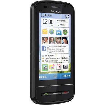 Мобильный телефон Nokia C6 Black , фото 2