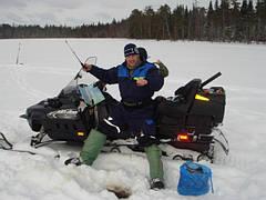 Сани, канны, ящики для зимней рыбалки