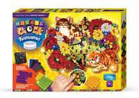 Набор для творчества Mosaic clock Котята , Danko Toys , MС-01-02