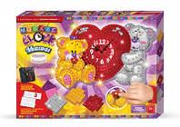 Набор для творчества Mosaic clock Мишки , Danko Toys, MС-01-05