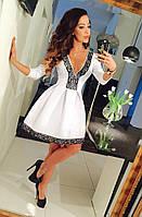 Платье купить низкая цена с кружевом в складку пышное 42 44 46 48 50 52 Р