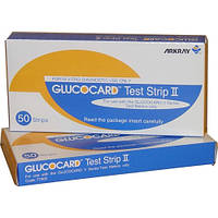 Тест-полоски для глюкометра Глюкокард 50 шт.