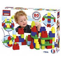 SMOBY Конструктор 80 деталей Maxi Abrick 80 Baby bricks