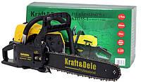 Новая мощная немецкая бензопила Kraft&Dele!