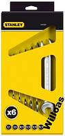 Набор ключей рожковых 6х7-16х17 4-87-051 STANLEY