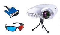 Проектор Maxled Neo (HDMI,USB,SD) +3D очки +штатив
