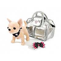 Simba Собачка в сумочке Серебряный гламур Chi-Chi Love Glamorous