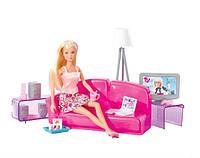 Simba Игровой набор Штеффи и гостиная комната Steffi Love Loft Livingroom Play set