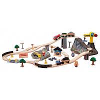 KidKraft Игровой набор железная дорога Горная стройка Bucket Top Construction Train Set