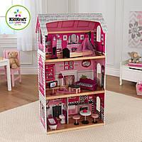KidKraft Кукольный домик розовый Pink and Pretty Dollhouse