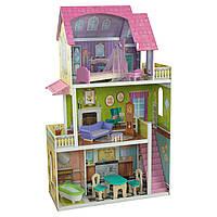 KidKraft Кукольный домик розовый Флоренс Florence Dollhouse