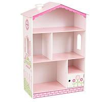Kidkraft Кукольный дом коттедж книжный шкаф Cottage Bookcase Dollhouse