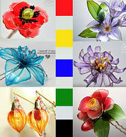 Набор колеров для смолы Витраль,набор 5 штук основных цветов