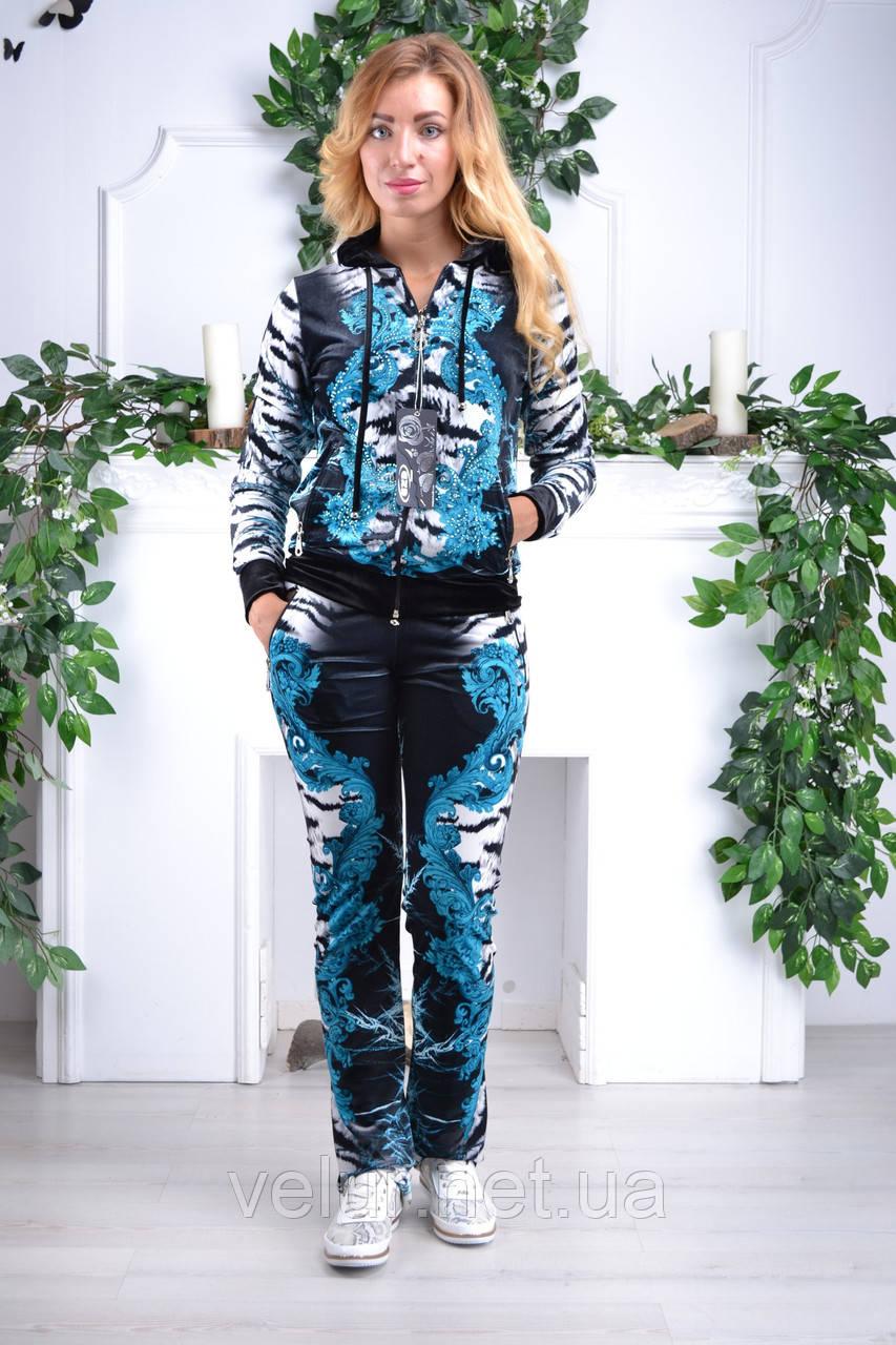 3befd0e62aa Велюровый женский спортивный турецкий костюм EZE купить разм 42