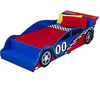 Kidkraft Детская кроватка Гоночная машинка Boys Race Car Toddler Bed