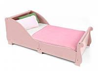 KidKraft Детская кровать для девочки розовая Girls Pink Toddler Cot Bed