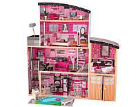 Kidkraft Кукольный домик розовое Сияние Pink Sparkle mansion Dollhouse