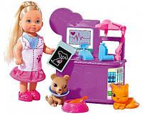 Simba Evi Love Игровой набор Ева Ветеринар Animal doctor pley set 5732798