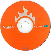 "Диск CD-RW ""Videx"" 700mb 4-10x (bulk-50 шт.)"