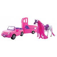 Steffi Love Штеффи Джип с лошадью и трейлером Jeep and horse trailer 104667892