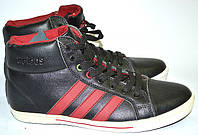 Кеды унисекс Adidas высокие, 3 красные полосы OK-9068, фото 1
