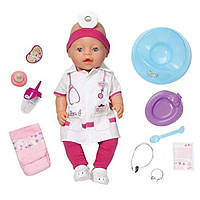 ZAPF Интерактивный пупс Доктор Baby Born Interactive Doctor Doll 81917