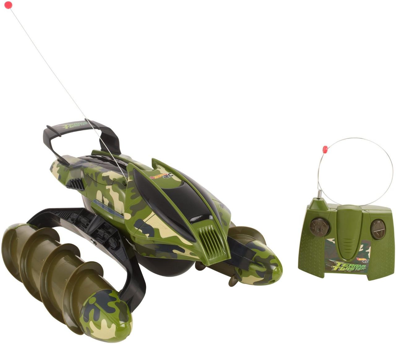 Hot Wheels Вездеход на р/у камуфляжный RC Terrain Twister Camo Mattel 04779