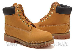 Ботинки Timberland 6inch жёлтые