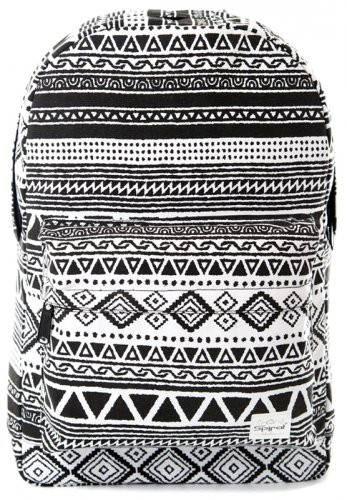 Повседневный рюкзак 18 л. OG Spiral 1151 черно-белый